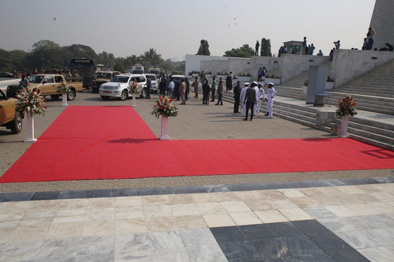 Pak-Army-Event-RedCarpet